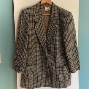 Vintage Talbots Wool Blazer